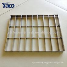 2017 China platform floor galvanized steel grating, best price stainless steel grating steel prices philippines