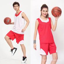 2017 Tailandia unisex reversible personalizado OEM sublimación baloncesto baloncesto jersey uniforme de baloncesto hombres conjuntos de ropa deportiva
