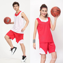 2017 Thailand unisex reversible OEM custom sublimation printed basketball jersey basketball uniform men sportswear sets