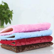 high quality luxury 3d shaggy bath rug set