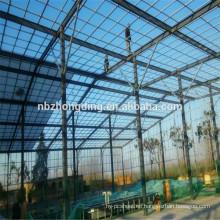 10 años de garantía uv revestimiento policarbonato hoja de invernadero