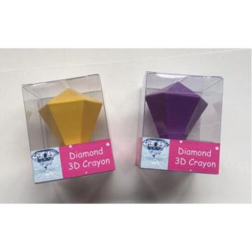 High quality diamond 3D wax crayon set