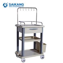 SKR019-ITT Functional Cheap Hospital ABS Medical Drug Nursing Trolley