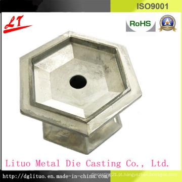 Liga de alumínio Die Casting LED Lighting Base Parte
