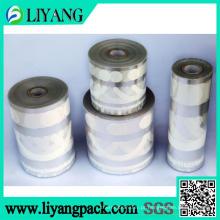 Cor simples, filme de transferência de calor para caixa de armazenamento, garrafa
