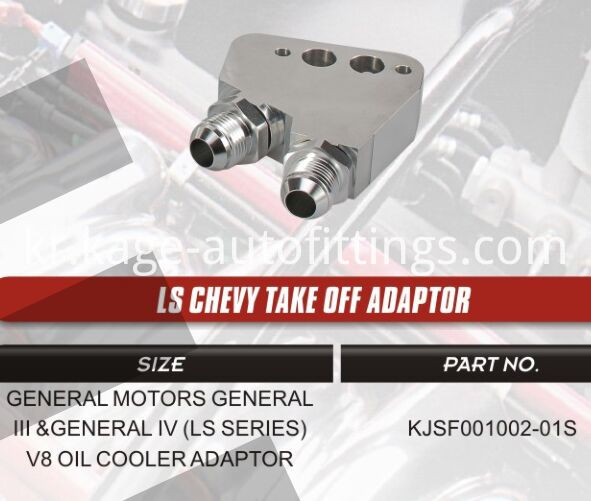 Ls Chevy Take Off Adaptor