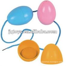 JQ-1077 новый стиль дети пластиковые резьбы учебное здание яйцо материал кирпич блоки игрушка для детей