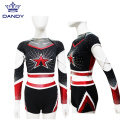 Strass Jugend Cheerleading Uniformen