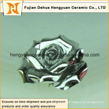Múltiplas cores Electroplate flor de cerâmica (decoração home)