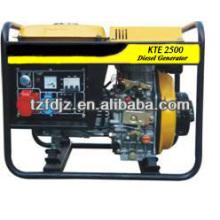 Groupe électrogène diesel ouvert de 5 kW
