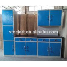 Casa de armazenamento de cozinha sala de aço móveis de design para casa conjuntos de armários de cozinha