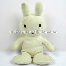 small cute white stuffed and plush le sucre toy