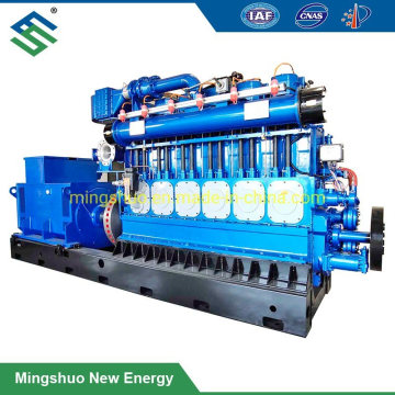 800kw CHP Biogas Natural Gas Generator for STP