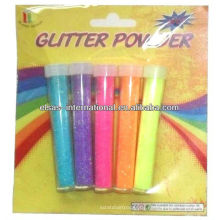 Neon-Glitter-Pulver-Malerei