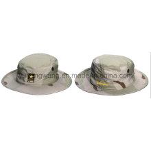 Cotton Camouflage Baseball Bucket Cap/Hat, Floppy Hat