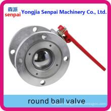 Round Ball Valve