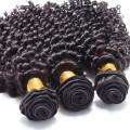 reines indisches rohes Haar, Afroverworrenes gerades menschliches Haar für das Flechten