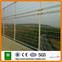 2015 clôture ornementale à double boucle de fil
