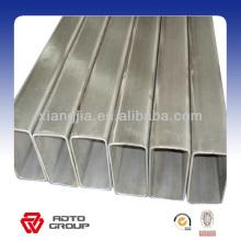Section creuse carrée d'acier inoxydable / tuyau rectangulaire de l'usine fiable