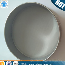 5 micron stainless steel dry sift test sieve