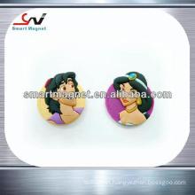 personalized home decoration soft pvc 3d fridge magnet