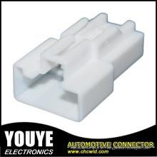 Habitação de conector automotivo plástico PBT 4 polos