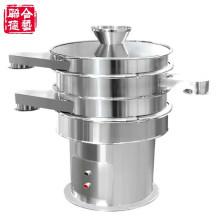 Peneira vibratória rotativa circular em aço inoxidável para pó e grânulos