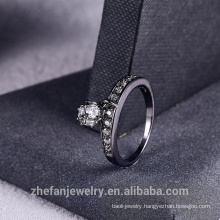 2018 New Rhinestone Ring With Fringe Fashion Women Jewelry