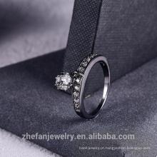 2018 novo anel de strass com franja moda feminina jóias