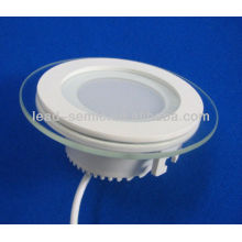smd 5W surface mounted led downlight glass