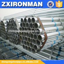 inmersión en caliente tubería sin costura acero pipa/soldada con autógena acero galvanizado tubo-cs