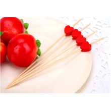 Модный дизайн Heart Shaped Natural Bamboo Skewer / Stick / Pick