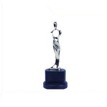 Trophée en aluminium de l'Europe et trophée en récompense