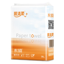 Wood pulp hand paper for hotel and restaurant