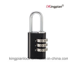Colorful Aluminum Code Combination Padlock for Bag 21mm