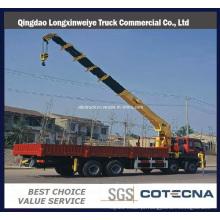 Guindaste montado caminhão do braço reto de HOWO 6X4 16ton (SQ16SK3Q)