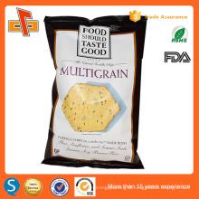 printing aluminum foil clear plastic bag for potato chips packaging