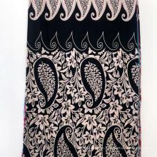 30s Broder Design Print Spun Rayon Fabric