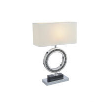 White Stainless Steel Office Home Desk Lamps (GT8111-S)