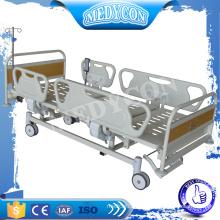 BDE008 3 Funktionen elektrisches medizinisches Bett mit Matratzenfuß durch ABS-Abdeckung
