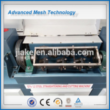 Automatic Steel Rod Straightening and Cutting machine