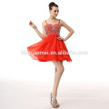 Wholesales Chiffon Elegant Red Lady Wedding Dress Formal Evening Dress