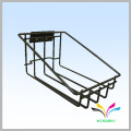 customized counter metal wire holder magazine stands