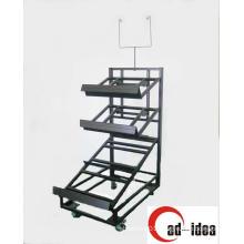 2015 New Customized Metal Free Standing Display Rack/Display Stand