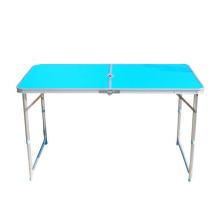Tabela branca da mobília ao ar livre portátil moderna da tabela de alumínio para o acampamento ou o piquenique