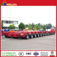 Transporte pesado Equipo Hidráulico Giratorio Ejes Modulares