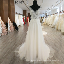 Latest fashion wedding dresses in cheap price wholesale