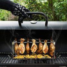 Решетка для куриных окорочков из нержавеющей стали для барбекю