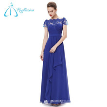 Chiffon Sashes Sheath Off The Shoulder Long Evening Dress