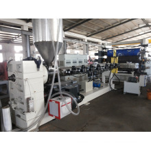 HDPE, PPR Pipe and PP PE PC PS HIPS Sheet Extrusion Lsj120/33 Single Screw Extruder